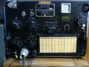Collins Radio uit de TCS-12 eenheid.
