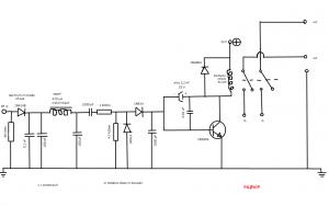 RF schakelaar voor eindtrap VHF